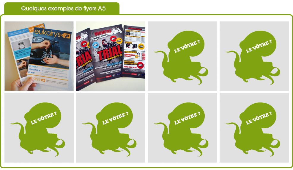exemples de flyers A5