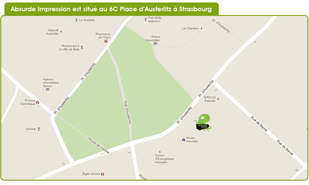 Absurde Impression à Strasbourg
